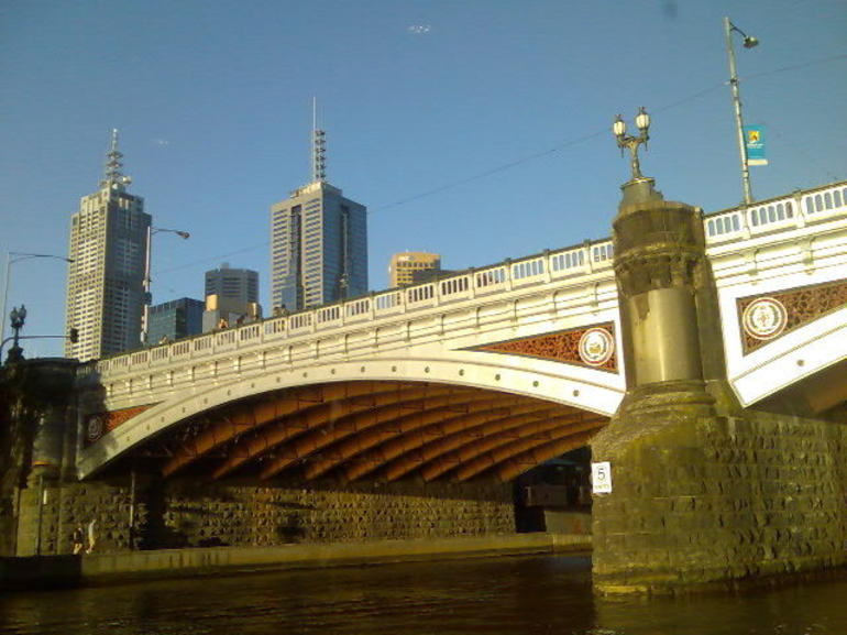 Bridges in the afternoon sun - Melbourne