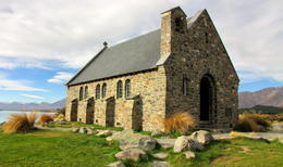 Church of Good Shepherd, Lake Tekapo , Evgeny P - May 2011