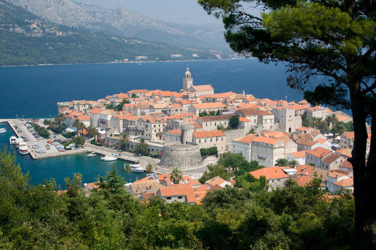 City of Korcula, Korcula Island, Croatia