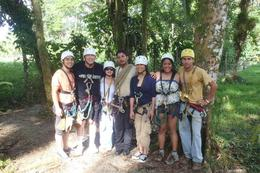Photo of San Jose Sarapiqui River Sightseeing Cruise and Zipline Canopy Tour from San Jose Fun Adventures team!