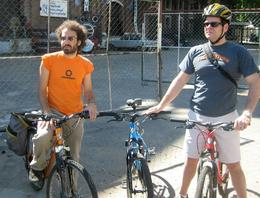 Photo of Buenos Aires Buenos Aires Bike Tour: San Telmo and La Boca Districts Gabriel and Tony taking a break