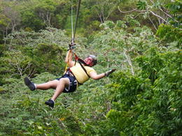 Photo of Roatan Roatan Shore Excursion: Zip 'n' Dip Canopy Tour Heck Yeah !!!