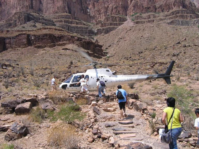 Helicopter we flew in! - Las Vegas