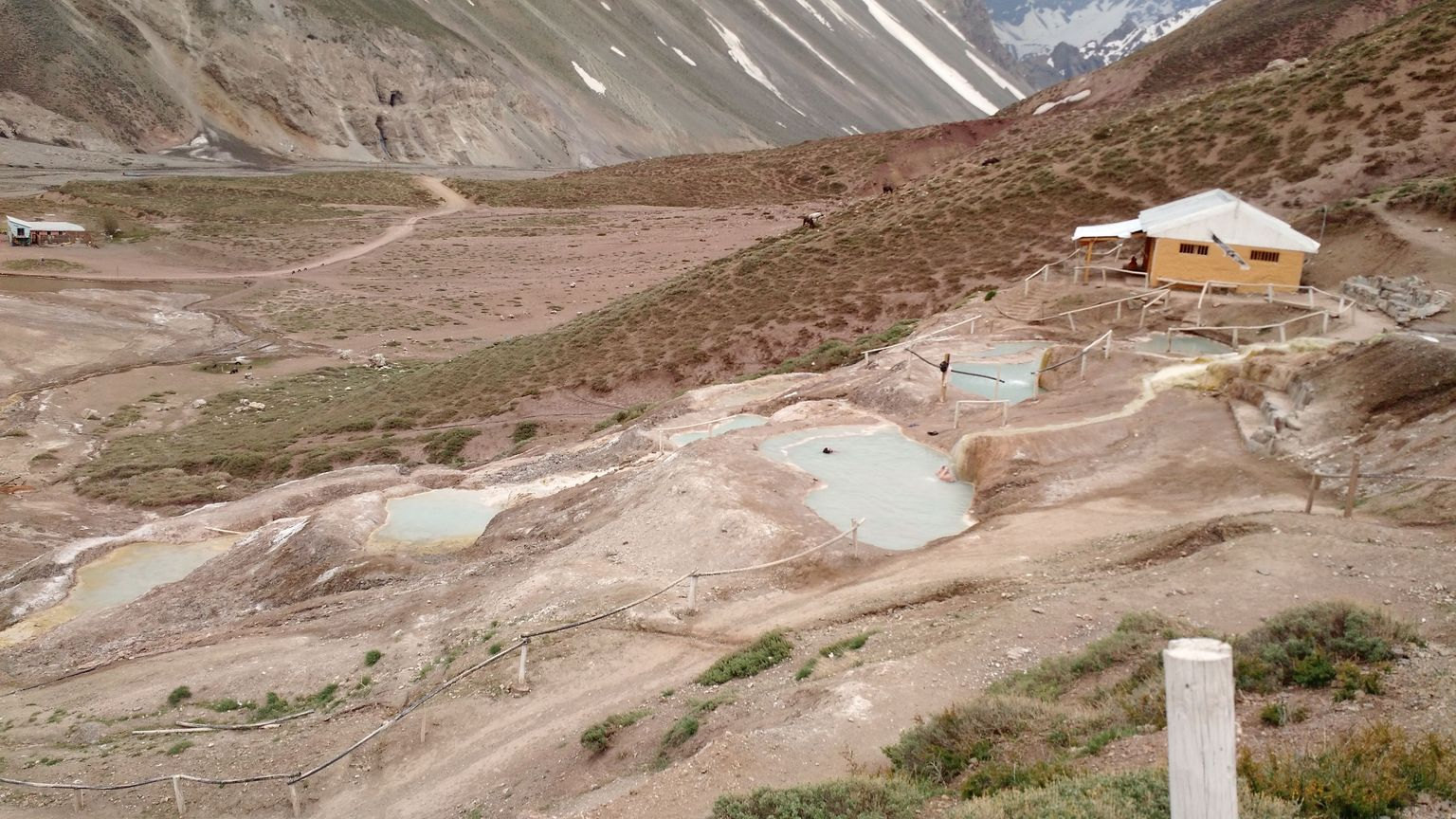 Small-Group El Morado Trek and Hot Springs Day Trip from Santiago