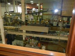 Great view of the bottling process , Susan S - September 2013