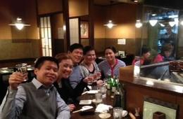 Photo of   Kampai! Good yakitori pairings with Sake.