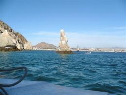 ''Pelican Peak'' at Land's End-Frequented by Pelicans & Frigate Birds - February 2008
