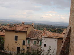 Photo of Rome Taste of Italy Food Tour to Chianti and Umbria from Rome Montepulciano rooftop view