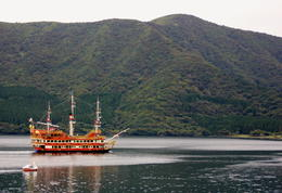 Photo of Tokyo Mt Fuji Day Trip including Lake Ashi Sightseeing Cruise from Tokyo Mount Fuji in the Autumn