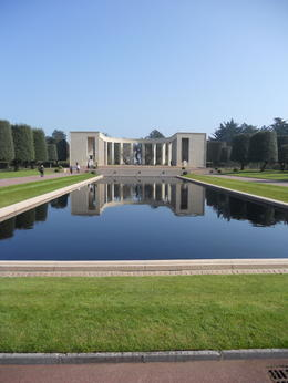 View of memorial at American Cemetery , Timothy S - April 2011