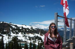 My daughter at the top of the peak to peak gondola ride , RACHEL G - June 2014