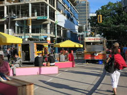 Photo of   Out and about on Robson Street