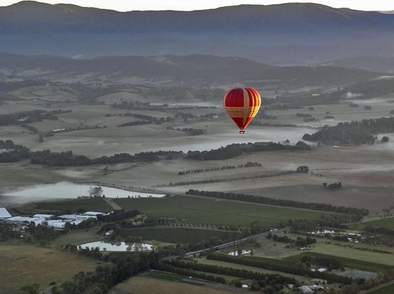 Over the Yarra Valley - Melbourne