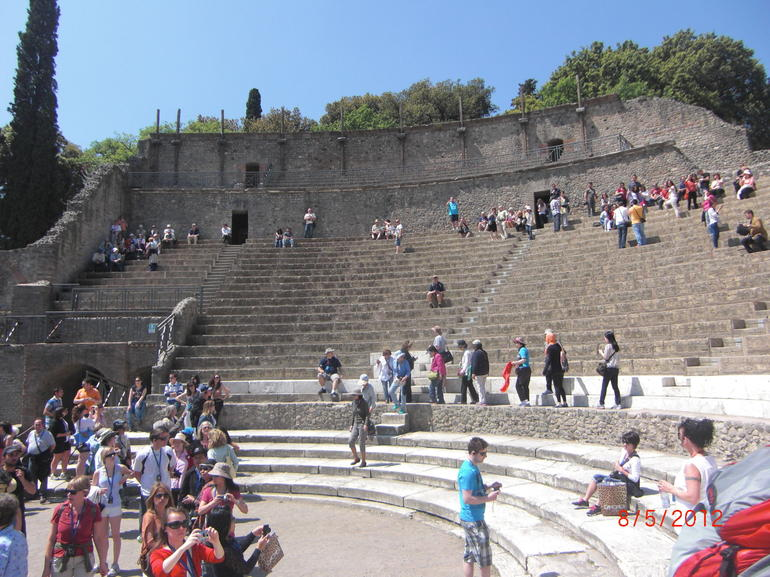 Pompeii theatre - Naples