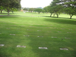Punchbowl Cemetery - National Memorial Cemetery of the Pacific., Bandit - February 2011