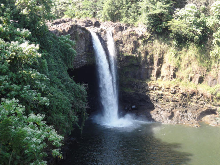 Rainbow Falls Lookout - Big Island of Hawaii