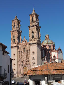 A view of the cathedral in Taxco. , Kevin F - May 2013