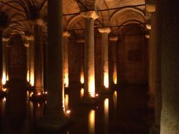 Visiting the underground cistern during the tour, great impression of fascinating ancient architecture. , janpatrick77 - March 2014
