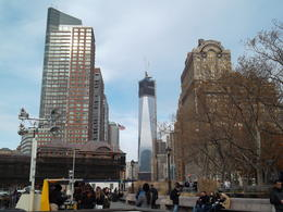 Photo of New York City New York Harbor Hop-on Hop-off Cruise including 9/11 Museum Ticket Walking down to 9/11 memorial