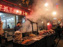 Photo of Xian Xi'an Gourmet Walking Tour at Night Barbecue