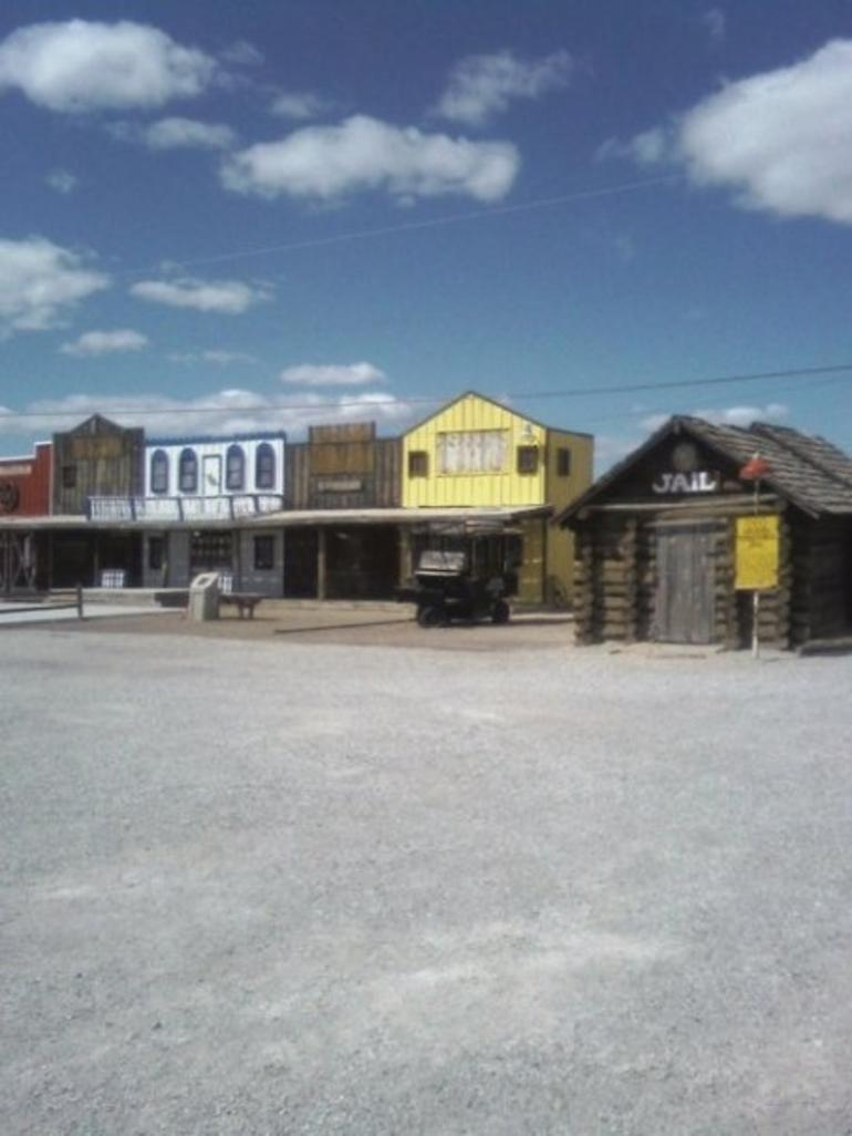 Lil' Town in Route 66 - USA