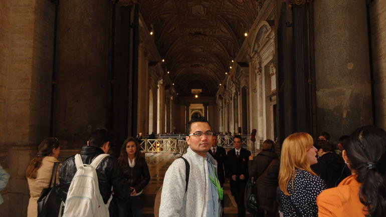 Photo of me inside Vatican City - Rome
