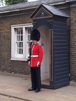 Photo of London London Royal Parks Bike Tour including Hyde Park Queen's Guard at Clarence House