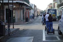 Rolling through the streets of New Orleans on a segway tour. I was a fun way to see the city and learn the history through our knowledgeable guide. , Elizabeth B - March 2014
