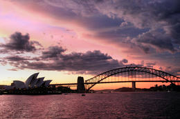 Photo of Sydney Sydney Harbour Dinner Cruise Sunset from the Sydney 2000 Cruise Ship