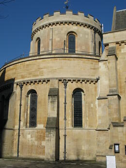 The historic Temple Church featured in The Da Vinci Code. , London Expert: Gavin - March 2011