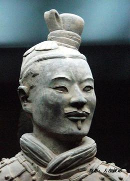 Close up of one of the warriors - June 2012