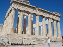 The east side of the Parthenon from top of Acropolis. , Manaschai K - September 2012