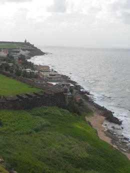 Photo of San Juan Rum Distillery and Old San Juan Half-Day Tour View From Fort
