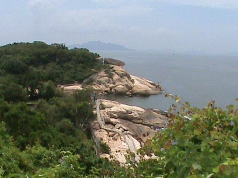 View from near the so-called pirates cave - Hong Kong
