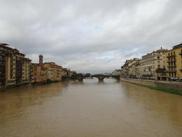 Photo of Piedmont & Liguria La Spezia Shore Excursion: Private Day Trip to Florence and Pisa View from the bridge