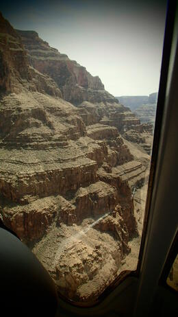 Photo of Las Vegas Grand Canyon Helicopter Tour from Las Vegas Views of the Canyon from the air.