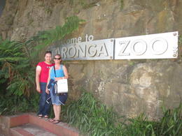 Excited to get into the zoo and engage in the Wild Australia Experience, Nicks - December 2013