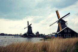 The beautiful working windmills of Zaans Schaans , Kiana C - May 2016