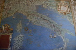 This map depicts the entire coutry of Italy while many others in the same hall show details of Venice, Rome, and other major cities. , EhViator - September 2015