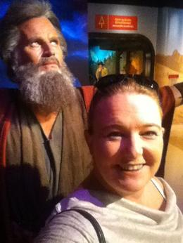 Photo of Los Angeles Madame Tussauds Hollywood Charlton Heston as Moses