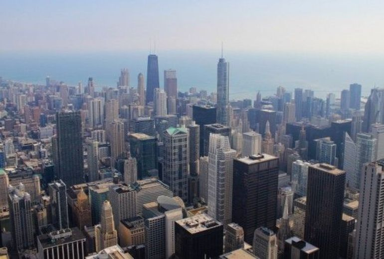 Chicago from the SkyDeck