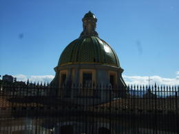 Photo of   Church with tiled dome