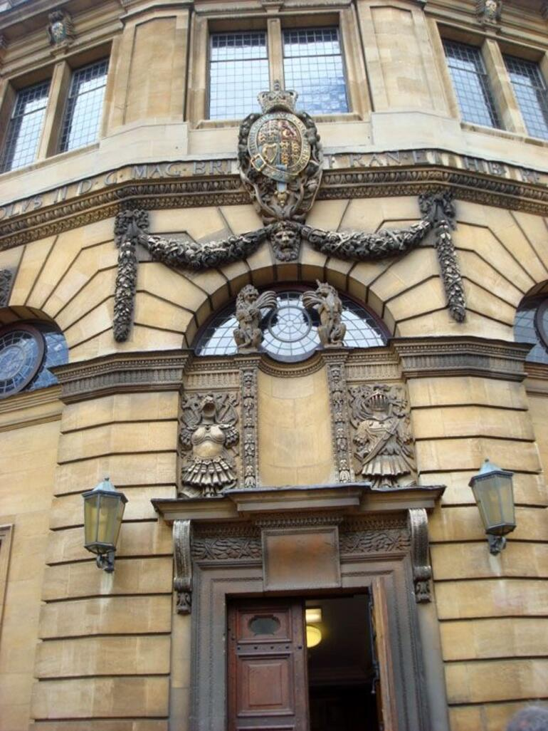 Close up of the building - London