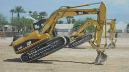 Photo of Las Vegas Dig This: Construction Playground Dancing Excavators!
