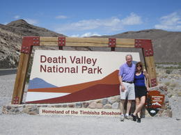 Photo of Las Vegas Small-Group Death Valley National Park Day Trip from Las Vegas Death Valley sign