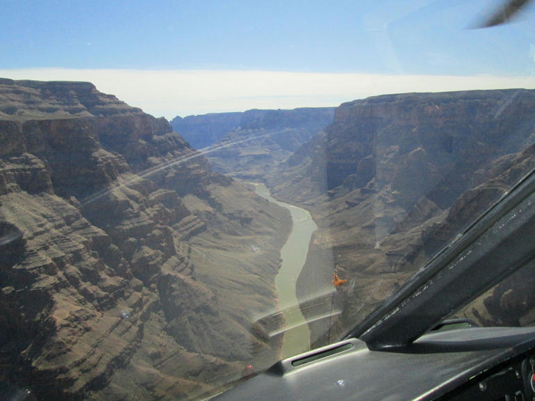 Flying into the Grand Canyon - Las Vegas