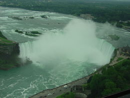 Horseshoe Falls, Niagara Falls from the Helicopter , Jean R - July 2015