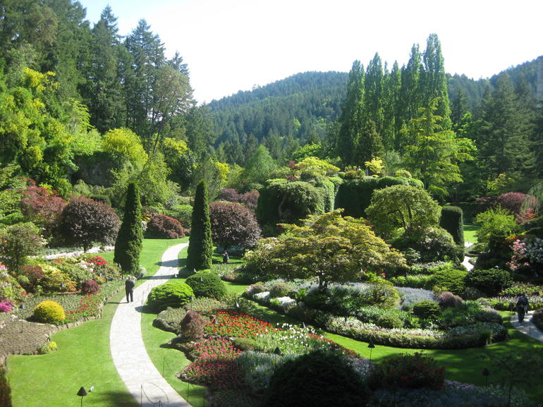 The Butchart Gardens - one of the world wonders