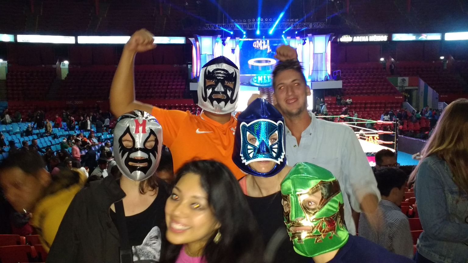 Lucha Libre Experience in Mexico City