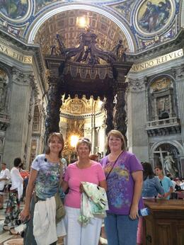 Photo of Rome Skip the Line: Vatican Museums Walking Tour including Sistine Chapel, Raphael's Rooms and St Peter's Me, my mother, and sister